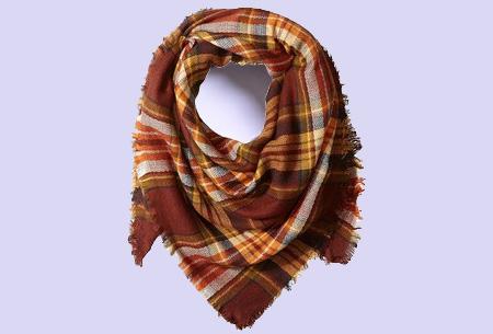 Oversized tartan sjaal | Keuze uit 15 prints - nu in de sale! #15