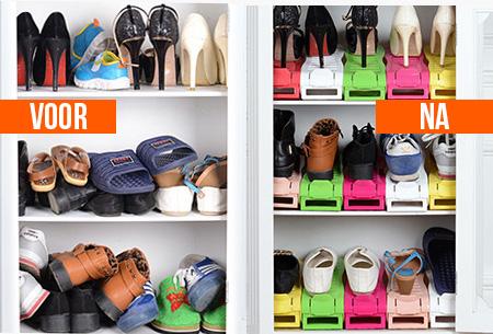 Schoenen organizers - set van 5, 10, 15 of 20 stuks | Ruimtebesparend & overzichtelijk!