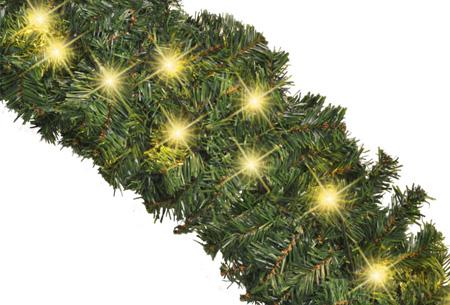 Guirlande met LED verlichting