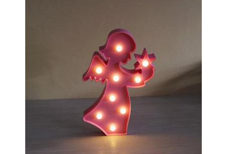 LED lamp in verschillende figuren | Origineel en trendy - keuze uit 13 figuren Engel