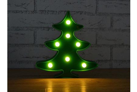 LED lamp in verschillende figuren | Origineel en trendy - keuze uit 13 figuren Kerstboom