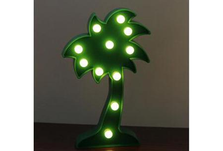 LED lamp in verschillende figuren | Origineel en trendy - keuze uit 13 figuren Palmboom