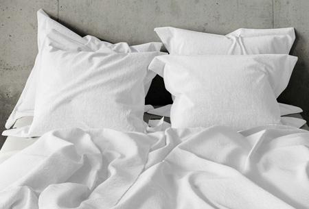 Pierre Cardin dekbedovertrek Maat 140 x 200/220 cm - Wit