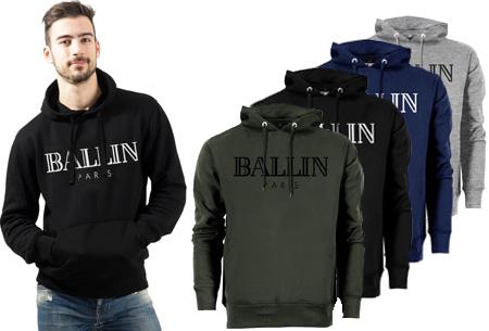 BALLIN Paris heren hoodie   Originele trui van topkwaliteit
