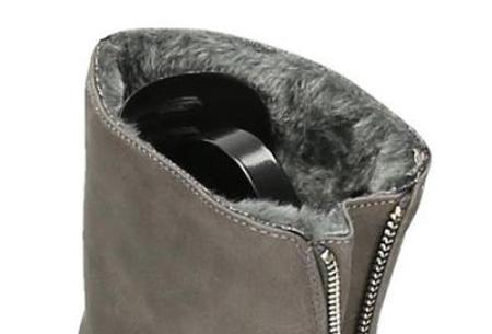 Gevoerde Zipper enkellaarsjes | Stijlvolle winterschoenen met imitatiebont