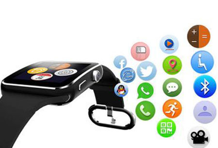 Smartwatch Parya | Slimme gadget voor berichten, mail, pushberichten, etc.
