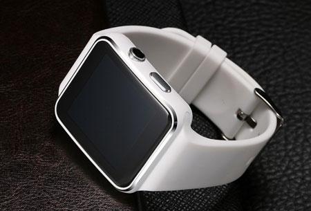 Smartwatch Parya | Slimme gadget voor berichten, mail, pushberichten, etc.  wit