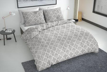 Flanellen fresh dekbedovertrekken | Hoogwaardig zacht materiaal voor optimaal slaapcomfort 2 - scandic grey