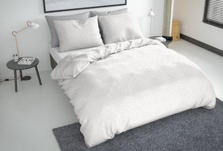 Flanellen fresh dekbedovertrekken | Hoogwaardig zacht materiaal voor optimaal slaapcomfort 1 - scandic white