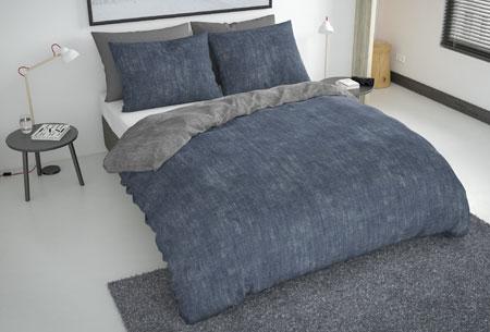 Flanellen fresh dekbedovertrekken   Hoogwaardig zacht materiaal voor optimaal slaapcomfort 6 - washcotton blue