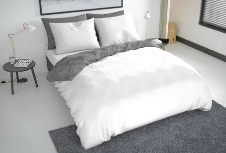 Flanellen fresh dekbedovertrekken   Hoogwaardig zacht materiaal voor optimaal slaapcomfort 8 - washcotton white