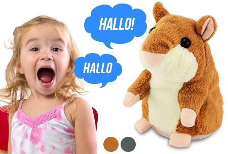 Hammie de pratende hamster nu met mega korting