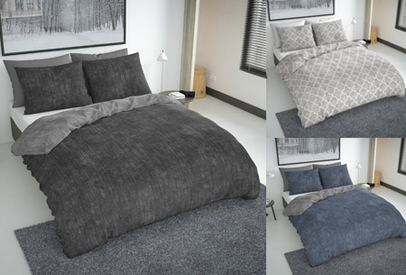 Flanellen fresh dekbedovertrekken | Hoogwaardig zacht materiaal voor optimaal slaapcomfort