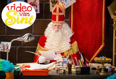 Dagaanbieding: Persoonlijke videoboodschap van Sinterklaas