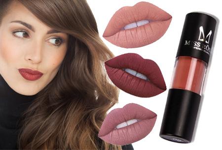 Matte liquid lipstick 1+1 gratis