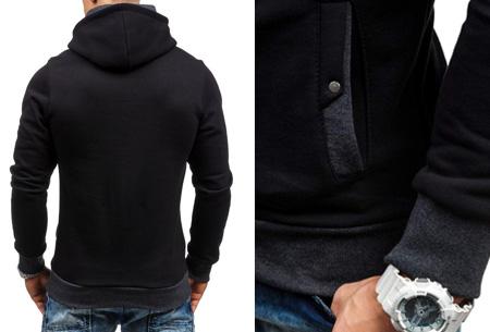 Zip hoodie | Met comfy fleece binnenzijde