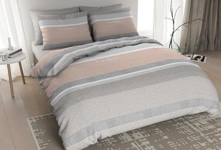 Pierre Cardin flanellen dekbedovertrekken | Comfortabel en warm slapen #2 Blush zalm