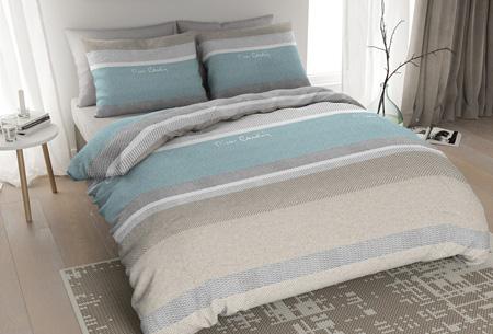 Pierre Cardin flanellen dekbedovertrekken | Comfortabel en warm slapen #1 Blush mint