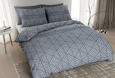 Pierre Cardin flanellen dekbedovertrekken | Comfortabel en warm slapen #6 Jersey Leaf blauw
