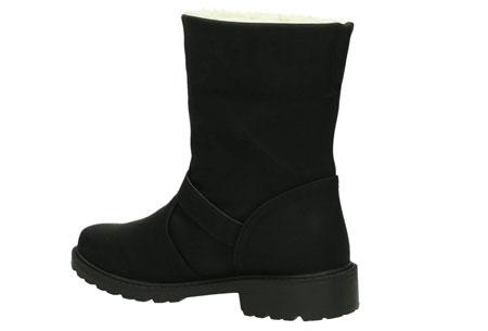Gevoerde Buckle enkellaarsjes | De tijd van koude voeten is voorbij. Verkrijgbaar t/m maat 42