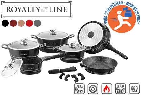 Royalty Line 14-delige pannenset