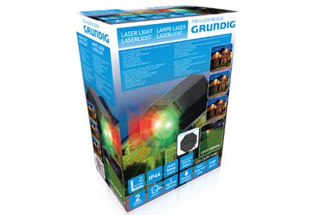 Grundig Laser projector lamp | Het hele huis feestelijk verlicht! #A