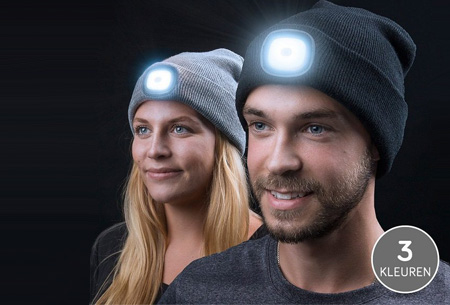 Led-beanie in de SALE