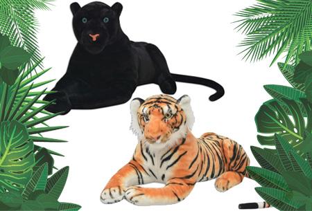 Dagaanbieding: XXL jungle knuffels nu met korting