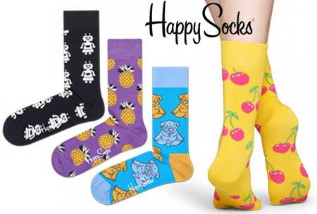 Dagaanbieding: Happy Socks 4-pack nu voor een spotprijs