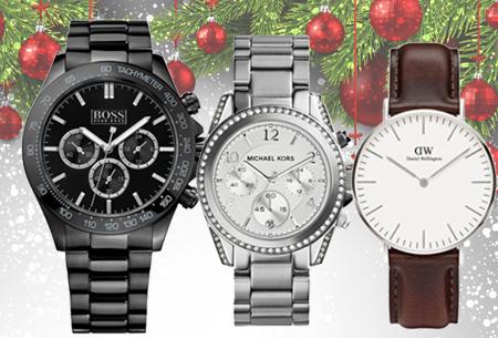 Dagaanbieding: Merk design horloges
