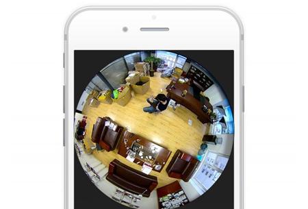 Outdoor 360 graden camera | Waterdichte beveiligingscamera voor binnen en buiten