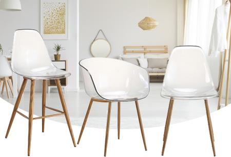 Dagaanbieding: Transparante Lucy stoelen