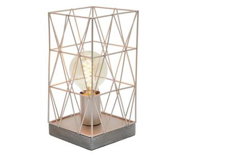 Bels lamp | Vintage tafellamp in een modern jasje Koperkleurig