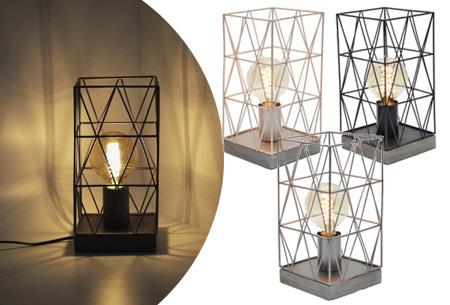 Dagaanbieding: Bels lamp