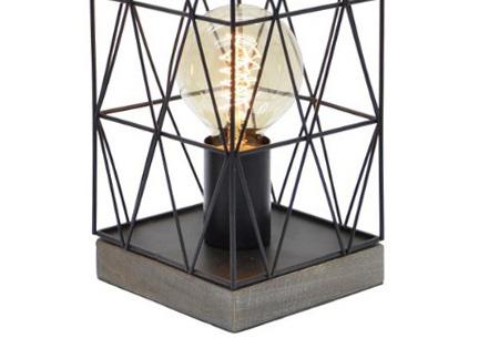 Bels lamp | Vintage tafellamp in een modern jasje