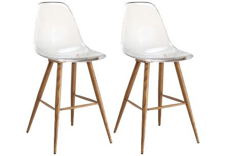 Set van 2 transparante Lucy stoelen | In 3 verschillende uitvoeringen #3