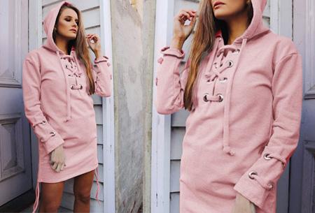 Lace up hoodie | Comfortabel, fashionable en een tikkeltje sexy