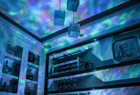 Wave Ocean lamp | Met verschillende kleuren licht & geluid