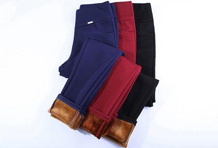 Elastische fleece broek | Warme en comfortabele musthave