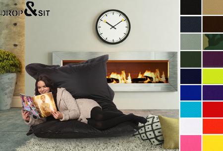 Drop & Sit zitzak | Keuze uit 18 kleuren & 2 formaten - nu extra voordelig!