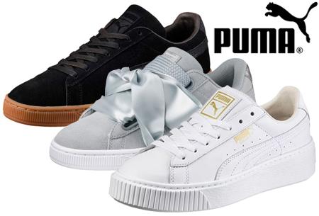 Dagaanbieding: Puma sneakers voor dames&heren nu met korting