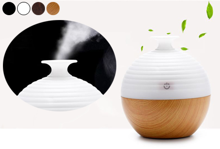 Aroma geurverspreider & luchtbevochtiger met LED verlichting