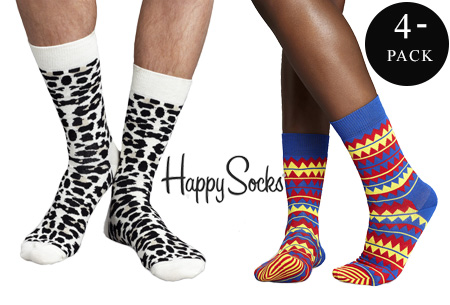 4 paar Happy Socks