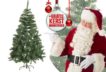 Kunstkerstboom nu met korting te bestellen <br/>EUR 17.99 <br/> <a href='https://tc.tradetracker.net/?c=24550&m=1018120&a=321771&u=https%3A%2F%2Fwww.vouchervandaag.nl%2FKunstkerstboom-kerstboom-zilverspar-sneeuw' target='_blank'>Bekijk de Deal</a>