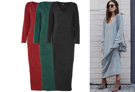 Lange sweater dress