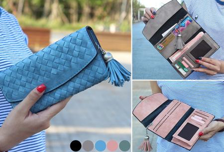 Pattern phone wallet