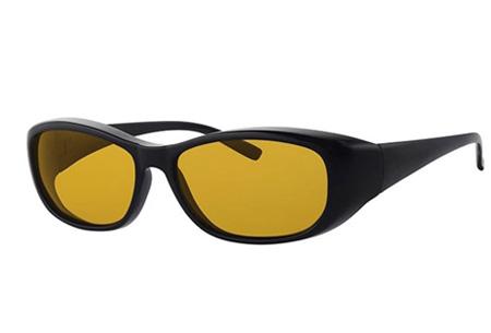 Nachtbril NightVision | Beter zicht in het donker en met slecht weer  Zwart