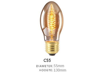 Vintage kooldraad lampjes | Creëer een uniek & sfeervol lichtspektakel C55