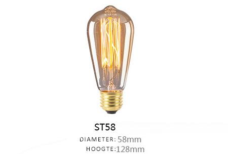 Vintage kooldraad lampjes | Creëer een uniek & sfeervol lichtspektakel ST58