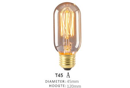 Vintage kooldraad lampjes | Creëer een uniek & sfeervol lichtspektakel T45 - A